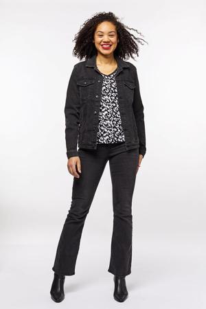 spijkerjasje Tamina zwart