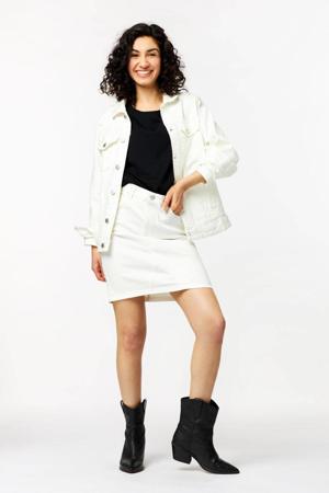 spijkerjasje Tamina wit