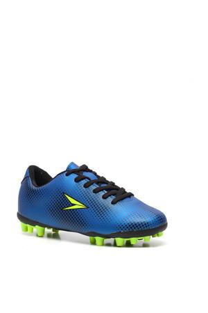 voetbalschoenen blauw/geel