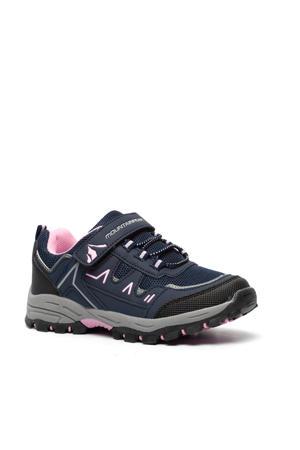 wandelschoenen blauw/roze