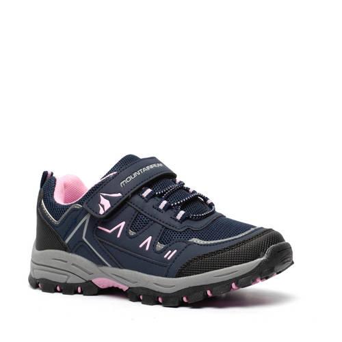 Scapino Mountain Peak wandelschoenen blauw/roze