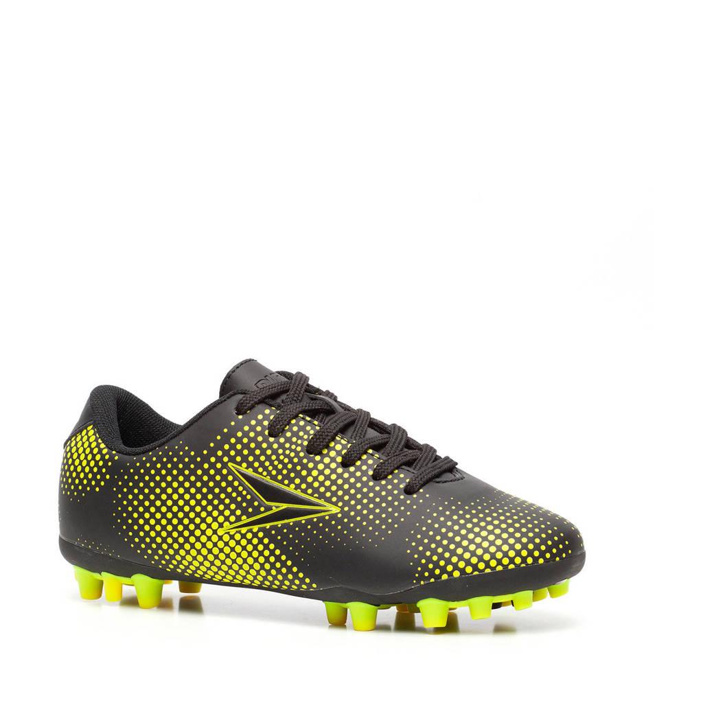 Scapino Dutchy   voetbalschoenen zwart/geel, Zwart/geel