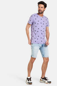 Refill by Shoeby T-shirt Timar met all over print lila, Lila