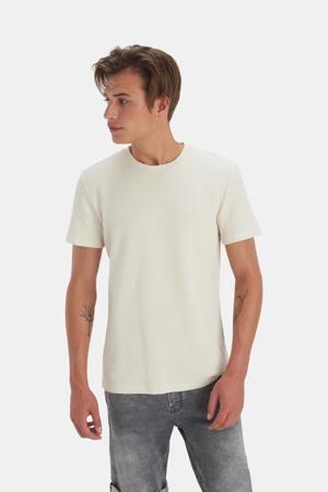 T-shirt Terry met textuur zand