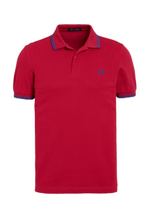 regular fit polo Twin Tipped rood