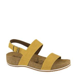 comfort sandalen geel