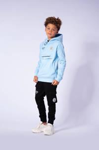 BLACK BANANAS hoodie met logo lichtblauw, Lichtblauw