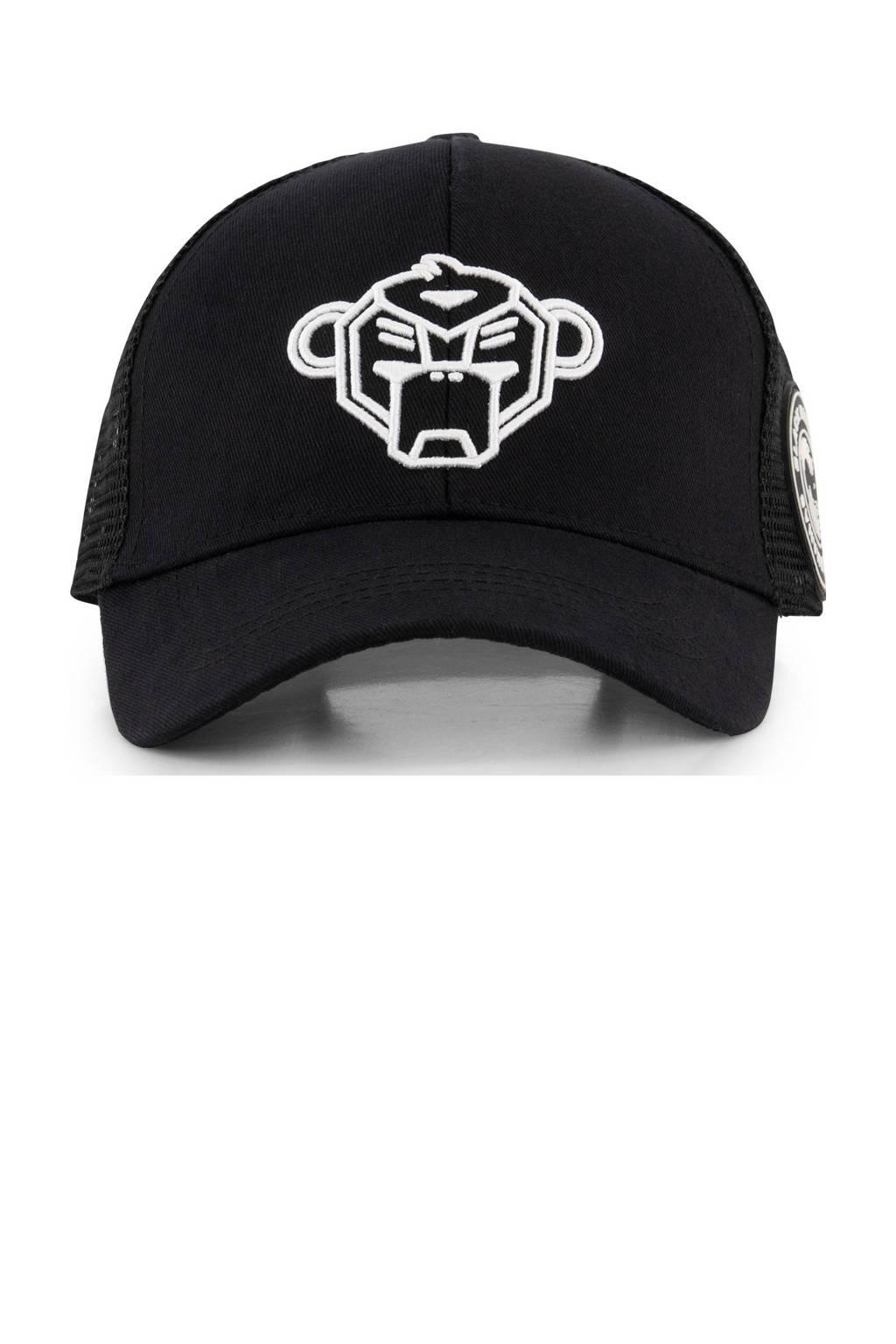 BLACK BANANAS pet met logo zwart, Zwart