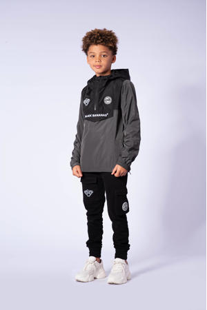 zomerjas grijs/zwart