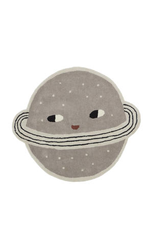 kindervloerkleed Planet  (Ø136 cm)