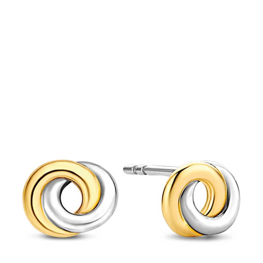 Ti Sento - Milano sterling zilveren oorbellen 7784SY, Goud/zilverkleurig
