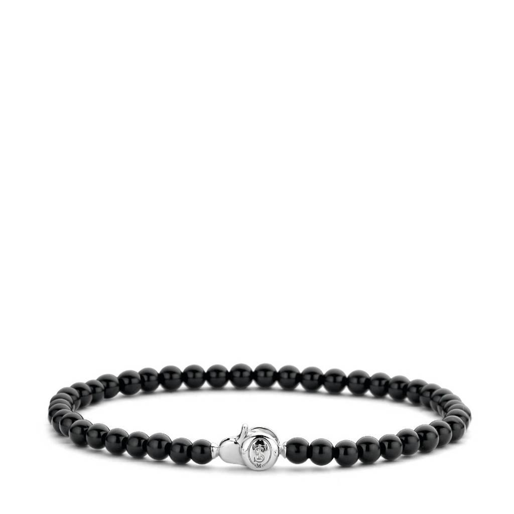 Ti Sento - Milano sterling zilveren armband 2908BO zwart, zwart/zilverkleurig