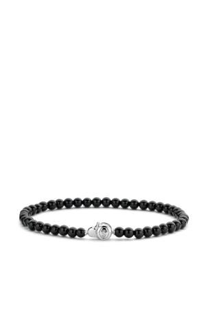 sterling zilveren armband 2908BO zwart