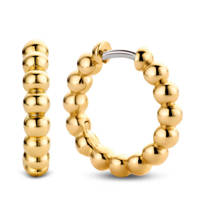 Ti Sento - Milano sterling zilveren oorbellen 7825SY, Goudkleurig