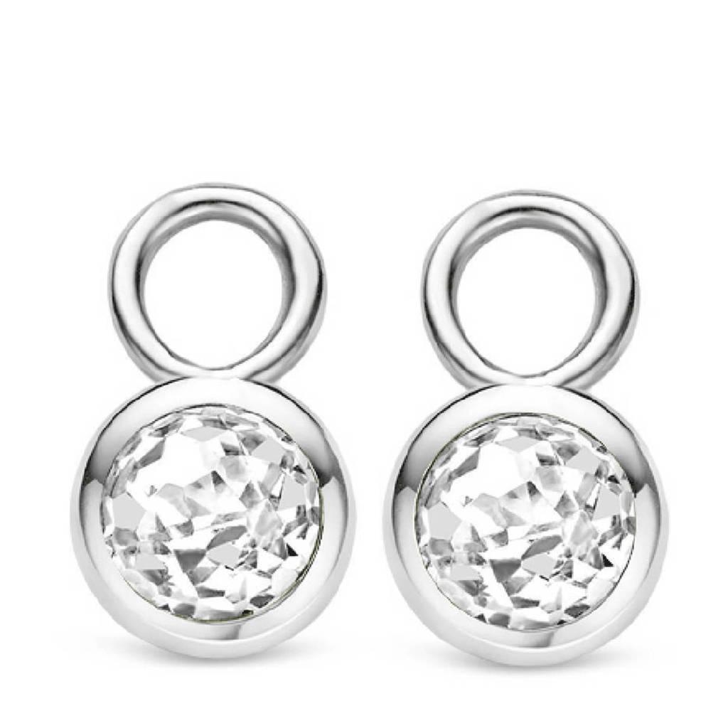 Ti Sento - Milano sterling zilveren oorbedels 9180ZI, Zilverkleurig