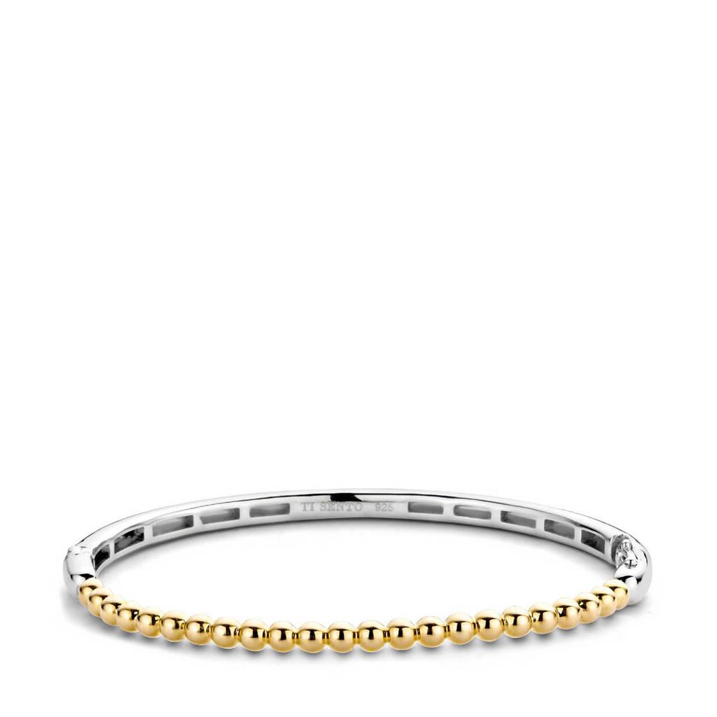Ti Sento - Milano sterling zilveren armband 2944SY, Zilver/goudkleurig