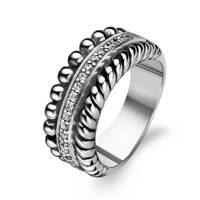 Ti Sento - Milano sterling zilveren ring 1836ZI, Zilverkleurig