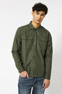 America Today regular fit overhemd army, Army