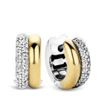 Ti Sento - Milano sterling zilveren oorbellen 7643ZY, Goud/zilverkleurig