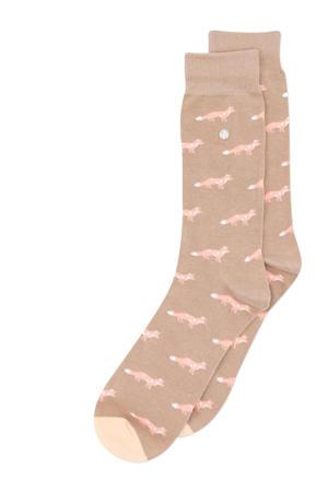 sokken Foxy lichtbruin