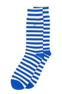 Alfredo Gonzales sokken Harbour Stripes blauw/ecru, Blauw/ecru