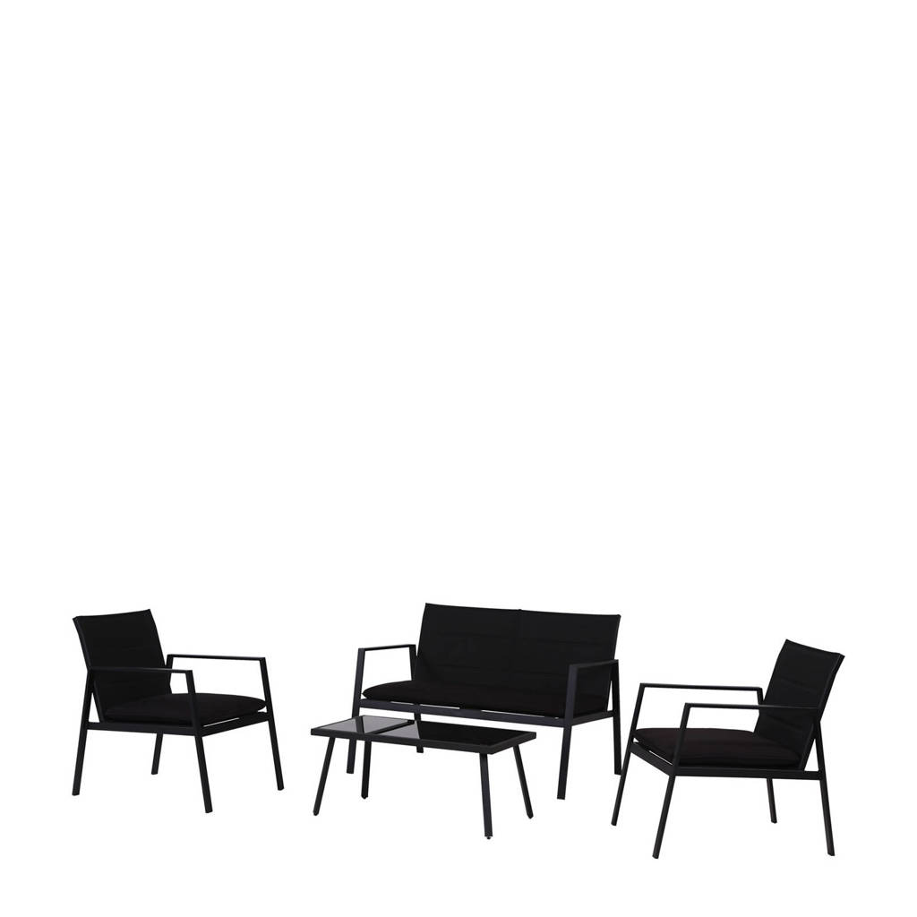 Pro Garden loungeset, Zwart
