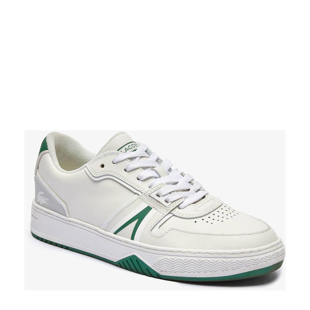 Lacoste L001  sneakers wit/groen, Wit/groen