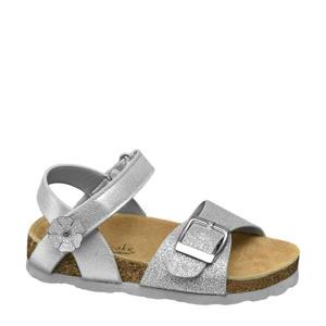 sandalen met glitters zilver