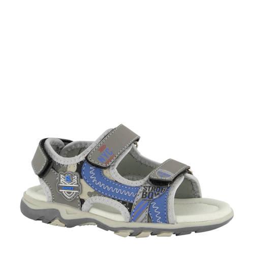 Bobbi-Shoes sandalen grijs/blauw