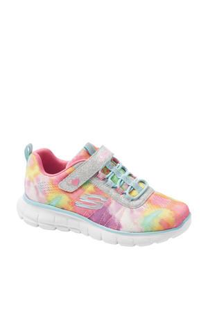 sneakers met glitters roze/multi