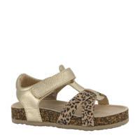 Cupcake Couture   sandalen met panterprint goud, Goud