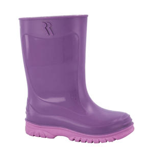 Jerry  regenlaarzen paars/roze
