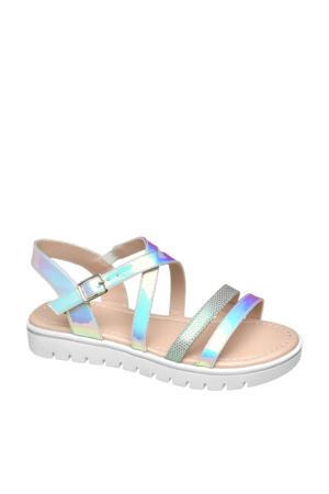 sandalen zilver/metallic