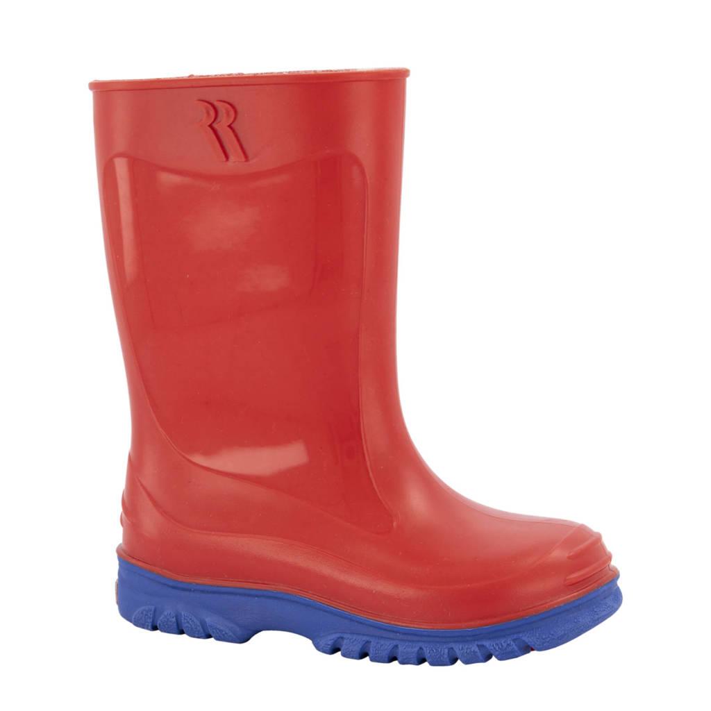 Romika Jerry  regenlaarzen rood/blauw kids, Rood/blauw