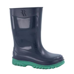 Jerry  regenlaarzen blauw/groen kids