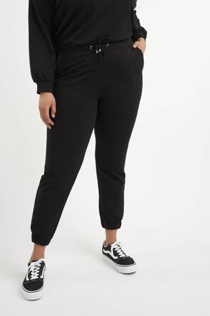 slim fit joggingbroek zwart