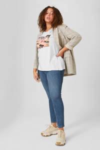 C&A XL Clockhouse high waist skinny jeans dark denim, Dark denim