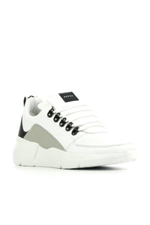 Roque Royal  leren chunky sneakers wit/multi