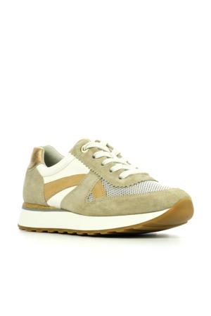 4918  suède sneakers beige