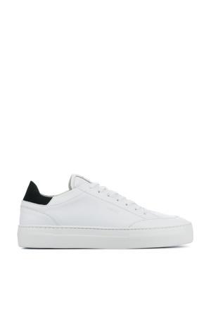 Jagger Tora  leren sneakers wit/zwart