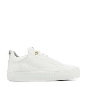 74402  leren sneakers wit