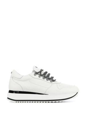 78130  leren sneakers wit