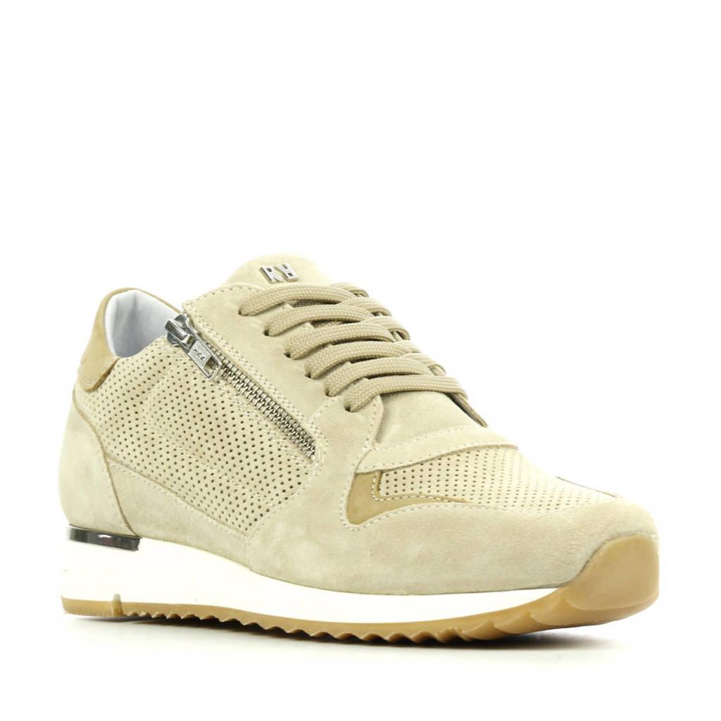 Red Rag 76834  suède sneakers beige, Beige