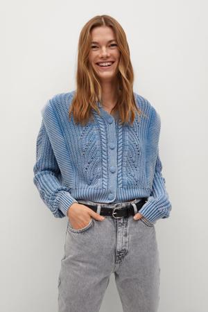high waist mom jeans grijs