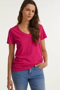 anytime T-shirt Fuchsia