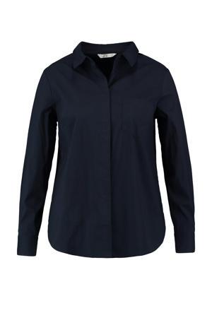 blouse Helene donkerblauw