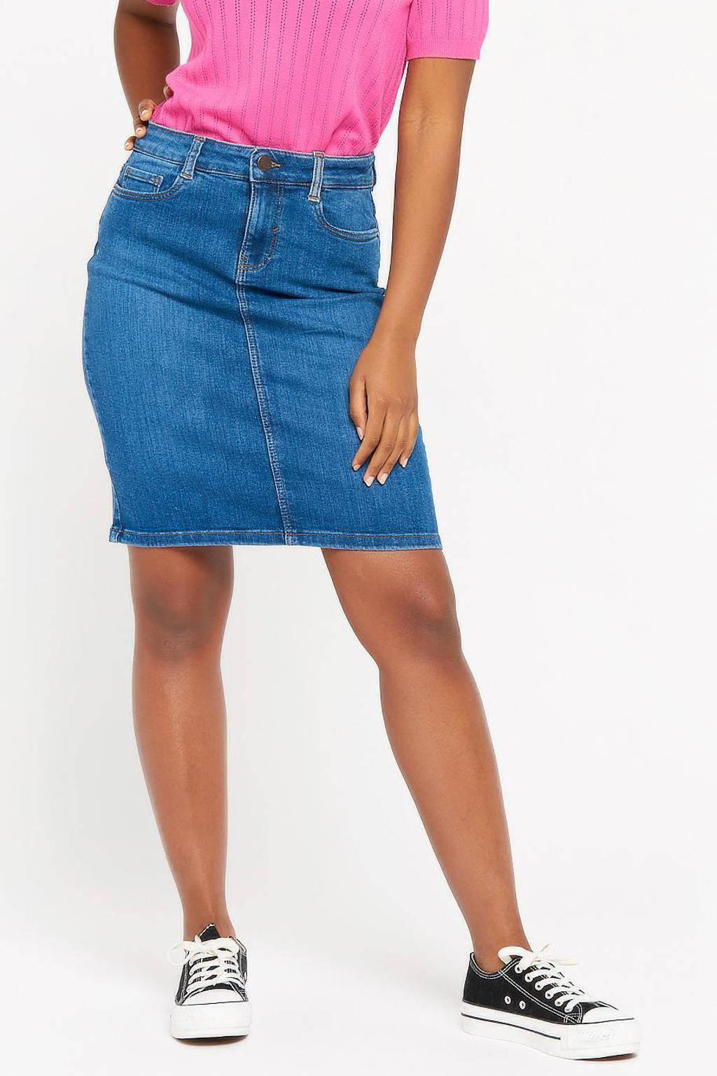 LOLALIZA spijkerrok, Lichtblauw
