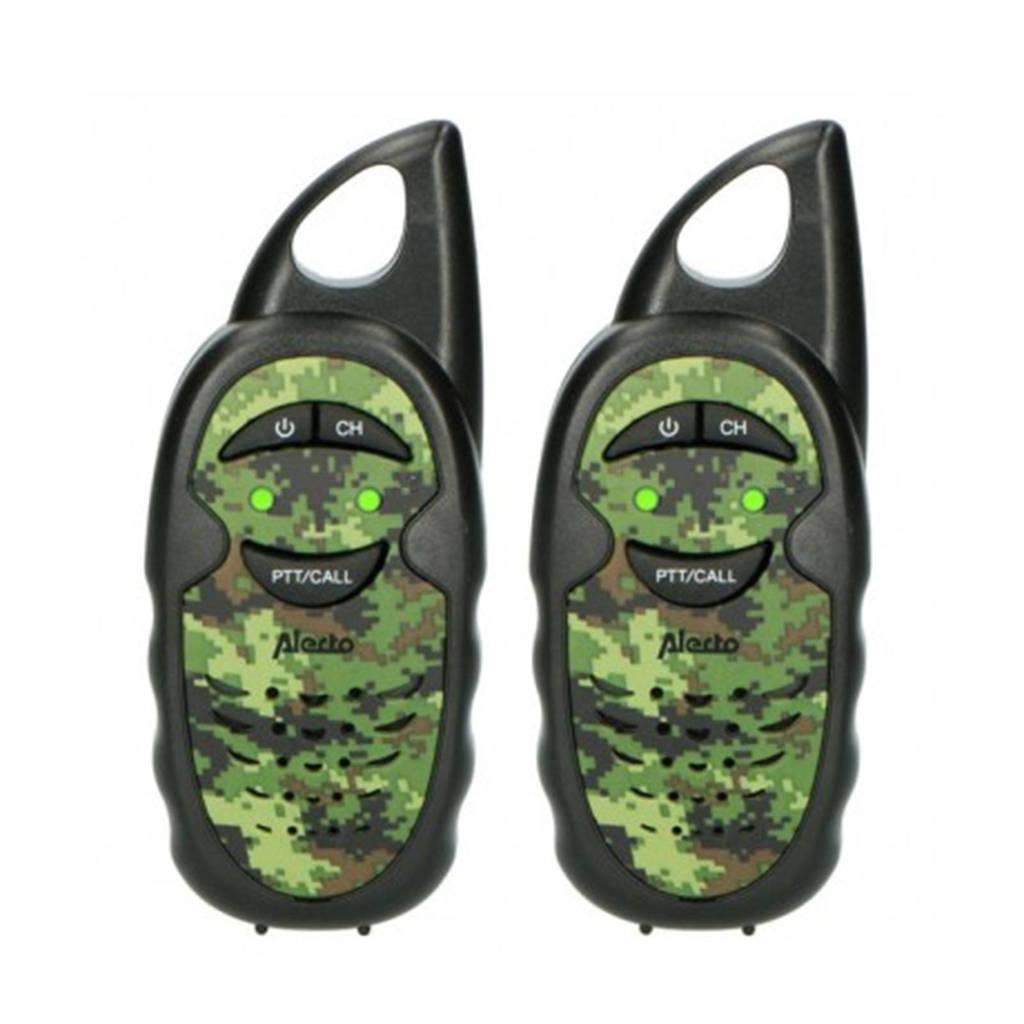 Alecto FR05CAMO Set van twee walkie talkies voor kinderen - camouflage, Camouflage