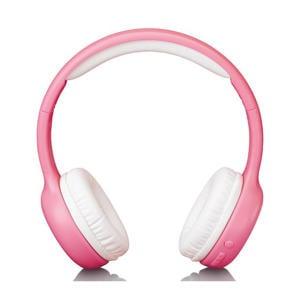 Vouwbare kinder Bluetooth hoofdtelefoon - Roze
