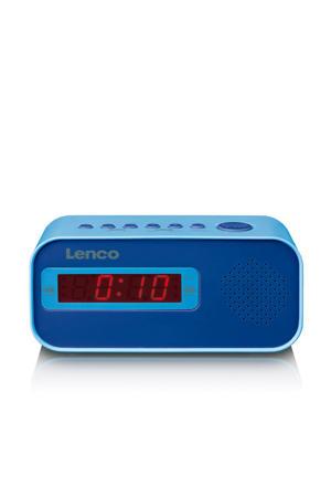 CR-250BU Wekkerradio met dual alarm - blue